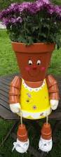 Cute Flower Pots by 43 Best Flower Pot People Images On Pinterest Clay Pot Crafts