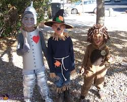 homemade kids wizard of oz costumes photo 2 2