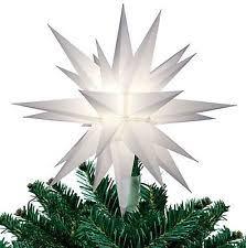 celtic cross 8 inch world blown glass tree topper