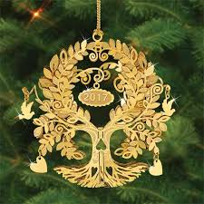 the 2017 danbury mint annual gold ornament the danbury