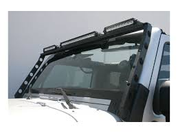 jeep light bar aries jeep roof light bars sharptruck com
