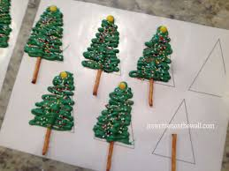 it u0027s written on the wall chocolate christmas tree cupcakes and