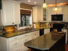 kitchen cream colored cabinets with brown glaze best color for