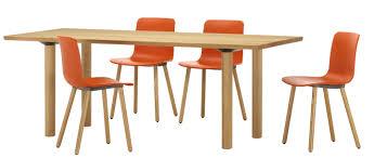 Table Haute En Bois Massif by Vitra Wood Table
