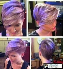 coloring pixie haircut short hair special lavender pixie haircuts hair pinterest