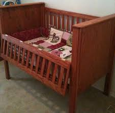 Free Woodworking Plans For Baby Crib by Cribs With Drop Gates Make Life So Much Easier Baby Stuff