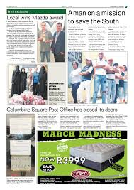 march 2018 womel co southern courier 06 march 2018 southern courier