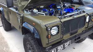 land rover wolf uk military wolf project 1 off limited edition 300 tdi youtube