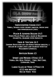cocktail drinks menu drinks menus barlogic