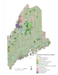Baxter State Park Map by State Of Large Landscape Conservation In Maine 2012 State Of