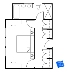 walk in closet floor plans master bedroom floor plans