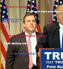 Chris Christie Memes - chris christie s thoughts on super tuesday chris christie s face