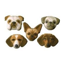 dog cake toppers dog cupcake toppers