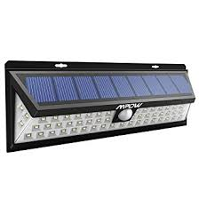 solar powered exterior wall lights mpow 54 led security lights solar powered lights outdoor wall l