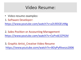 video resume examples tips on english resume writing ppt download 29 video resume video resume examples