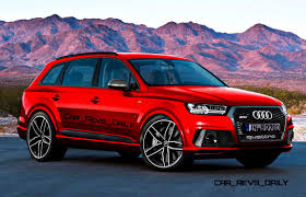 mercedes jeep 2016 red 2016 audi sq7