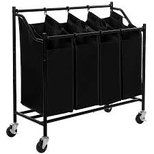 2017 best 4 bag laundry sorter cart reviews finderists