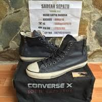 Jual Sepatu Converse Varvatos jual converse x varvatos heel zip navy original new