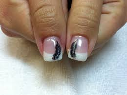 nail art with white tips choice image nail art designs