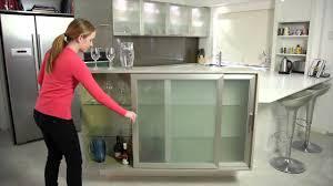 kitchen cabinets aluminum glass door aluminium framed cabinet doors