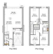 plan etage 4 chambres luxe plan maison 4 chambres etage ravizh com