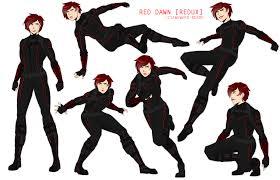 Red Awn Marvel Oc Red Dawn By Awkward Nerdd On Deviantart