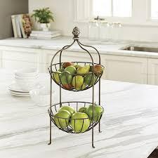 fruit basket stand artichoke 2 tier stand ballard designs