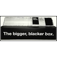 cards against humanity expansion against humanity bigger blacker box expansion