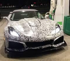corvette test 2018 corvette zr1 convertible test mule spotted in the