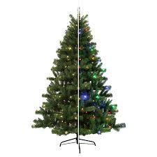 shop living 6 5 ft 1000 count pre lit seneca pine