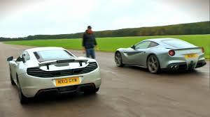 lexus lfa vs corvette zr1 youtube ferrari f12 berlinetta vs mclaren mp4 12c drag race youtube