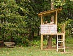 Build A Backyard Fort Instead Of A Treehouse Build A Diy Tree Fort Kids Love Multiple