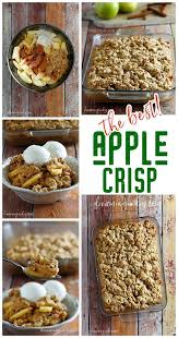 the best and easiest classic apple crisp dessert recipe dreaming
