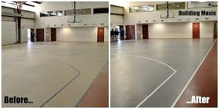 How Much Does A Backyard Basketball Court Cost Painting A Basketball Court Building Moxie