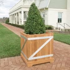 teak planters planters u0026 planter boxes country casual