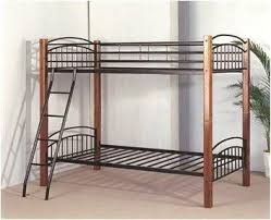 Wood And Metal Bunk Beds Metal Bunk Bed Pacific Imports Inc