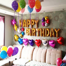 home decoration tips birthday decoration ideas at home with balloons room design plan