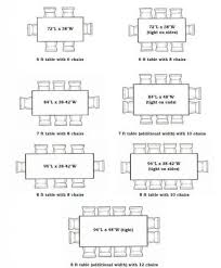 average width of dining table astonishing dining room table size for 8 on regarding of dimensions