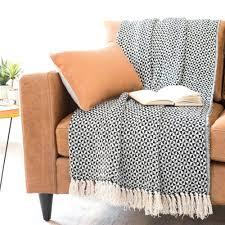 plaid canap grande taille plaid et jeta unis en coton collection avec jet de canap grande avec