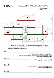 calcul surface utile bureaux shon shob calcul shon surface hors oeuvre brute nette d une maison