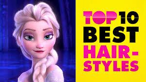 disney top 10 best hairstyles ladies edition youtube