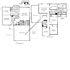 Cascade Floor Plan Cascade Model In The Ravinia Woods Subdivision In Gurnee Illinois