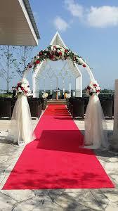 wedding arch kuching wedding bells are ringing at the ucsi hotel kuching