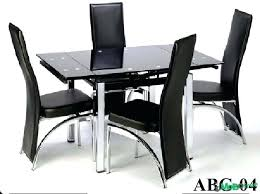 Glass Dining Sets 4 Chairs 4 Chairs Dining Table Sets Glass Dining Table 4 Chairs 4 Chair