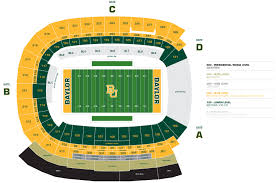 Nfl Coverage Map Mclane Stadium Athletic Facilities Baylor University