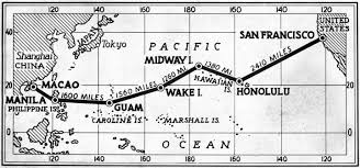 Route Map by Am Transpacific Route Map