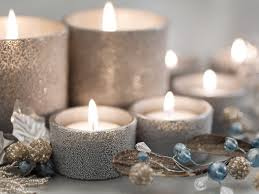 silver christmas candles pictures photos and images for facebook