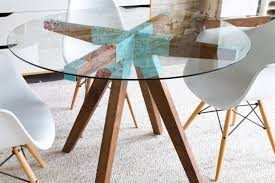 Dining Room Sets Glass Table by Kitchen Design Amazing Round Glass Dining Table Set Round Glass
