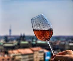 glass of wine curious lines prague curious lines