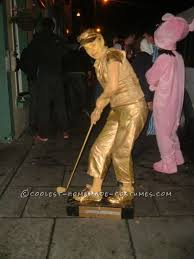 Halloween Golf Costumes Diy Golf Trophy Costume